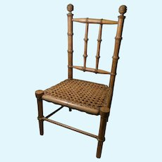 Lovely French Chair for French Fashion or French Bebe Dolls