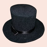 Nice Black Top Hat for Your Fashion Doll