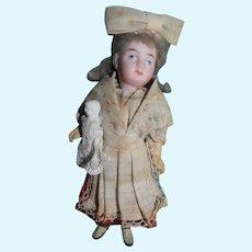 Dollhouse Nanny w/Baby, Original Clothes & Sweet!