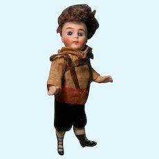 Mignonette Boy All Original, Swivel head for French Trade