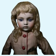 "Pretty Factory Original Blond Mohair Wig, 8-8-1/2"" C."