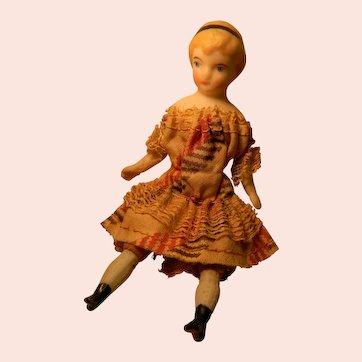 Delicate Doll House Girl w/Headband in Hair