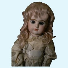 """Lovely Factory Blond Mohair Wig, 9-9-1/2"""""""