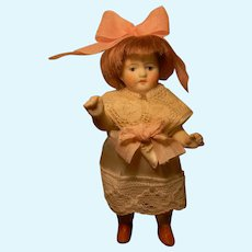 "All Bisque 4""  Dolly, Appealing Cutie"