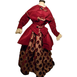 "Lovely Fashion Doll Costume, 3-Pc, 24-25"" Doll"