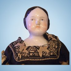 Little Covered Wagon China Doll