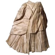 Original French Fashion Silk Skirt Outstanding Condition