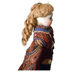 Early Fashion or Lady Doll Wig Pale Blond