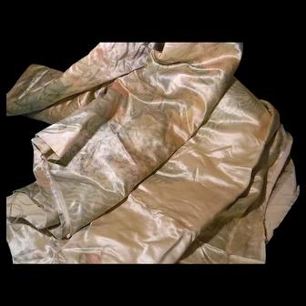 Precious Silk From 1890's Draperies