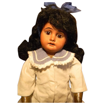 """Darling A.M. 1894, Mulatto Made for French Trade, 12-1/2"""" Fully Jointed"""