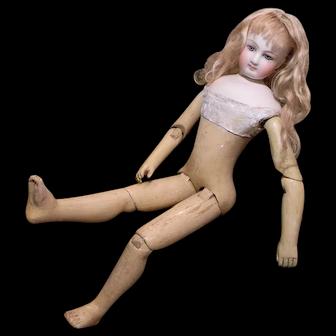 Mademoiselle Emmaline, A Wood Body French Fashion Doll