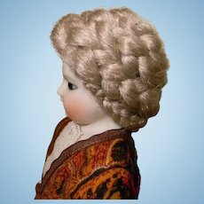 French Fashion Doll's Wig in Platinum Blond