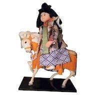 Samurai Warrior & Horse, w/Trappings