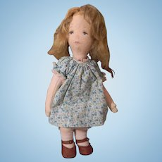 Sweet and Meloncoly Cloth Artist Doll, 1979 Made