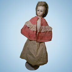 """22"""" Wax/Over Lady with Snood,"""