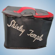 Vintage 1950's Shirley Temple Vinyl Purse