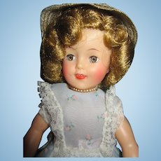 "Vintage Vinyl Ideal 12"" Shirley Temple Doll"