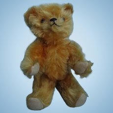 Vintage 1930's Jointed Mohair Teddy Bear