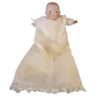 "Antique Grace Putnam Bye Lo Baby Doll 10"" Head Circumference"
