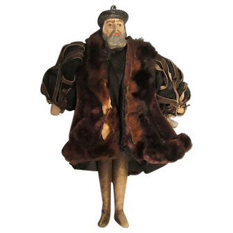 Early Small Henry VIII Doll