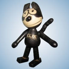 "Schoenhut Wooden 4"" Felix the Cat"