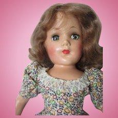 "Mary Hoyer 14"" Hard Plastic Doll"