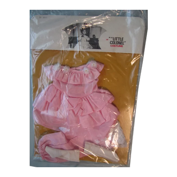 "Ideal 1973 Shirley Temple ""Little Colonel"" dress"