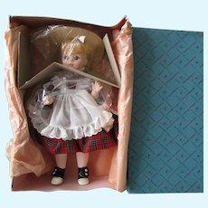 "Vintage 13"" Madame Alexander McGuffey Anna Doll MIB #1525"