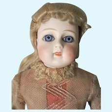 Beautiful Antique Fashion Doll & Wardrobe