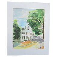 A Watercolor of Washington, D. C.