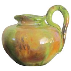 "A Theophilus Brouwer ""Middle Lane Pottery"" Hand Thrown Pitcher/Vase"