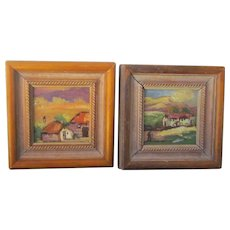 A Pair of Southwestern US Landscape Paintings