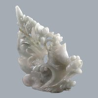 Chinese Jadeite Carving, Qing Dynasty