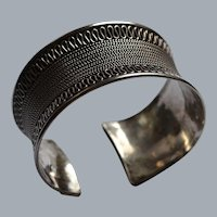 Sterling Silver Cuff Bracelet from Bali