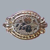 Art Nouveau Scatter Pin in 14 Karat Gold Filled