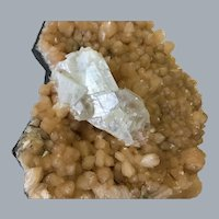Chabazite With Calcite Specimen from Hungary