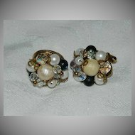 Super Pretty One of a Kind Cluster Cuff Links