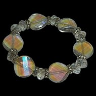 Luscious Faceted Genuine Crystal Beaded Bracelet