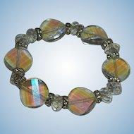Luscious Faceted Genuine Crystal Beaded Bracelet