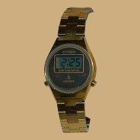 Vintage Citizen Digital Quartz Ladies Watch