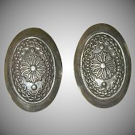 Hector Aguilar Impressive Sterling Silver Earrings