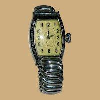 Wonderful The Gralett Watch by Ingraham Art Deco Watch ~ Non Working