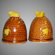Fun Utah BeeHives Salt & Pepper Shakers complete w/corks