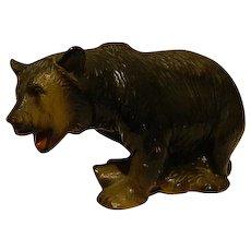 Yellowstone Grizzly Bear Bank ~ Souvenir 1969