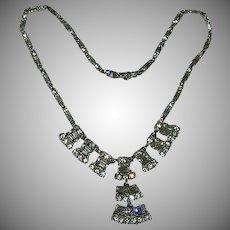 Classic Bogoff Diamante Rhinestone Necklace