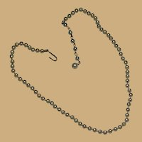"""Single Strand Fish Scale Pearls 11"""" Length"""