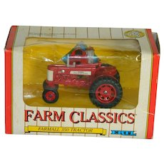 Original Box Ertle Farmall 350 Tractor 1/43 Scale