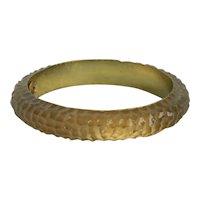 Victoria Marin Molded Lucite Bangle Bracelet