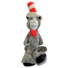 "24"" 1979 Eden Cat in the Hat Stuffed Toy Animal"