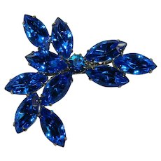 Beyond Beautiful Egyptian Blue Juliana Brooch